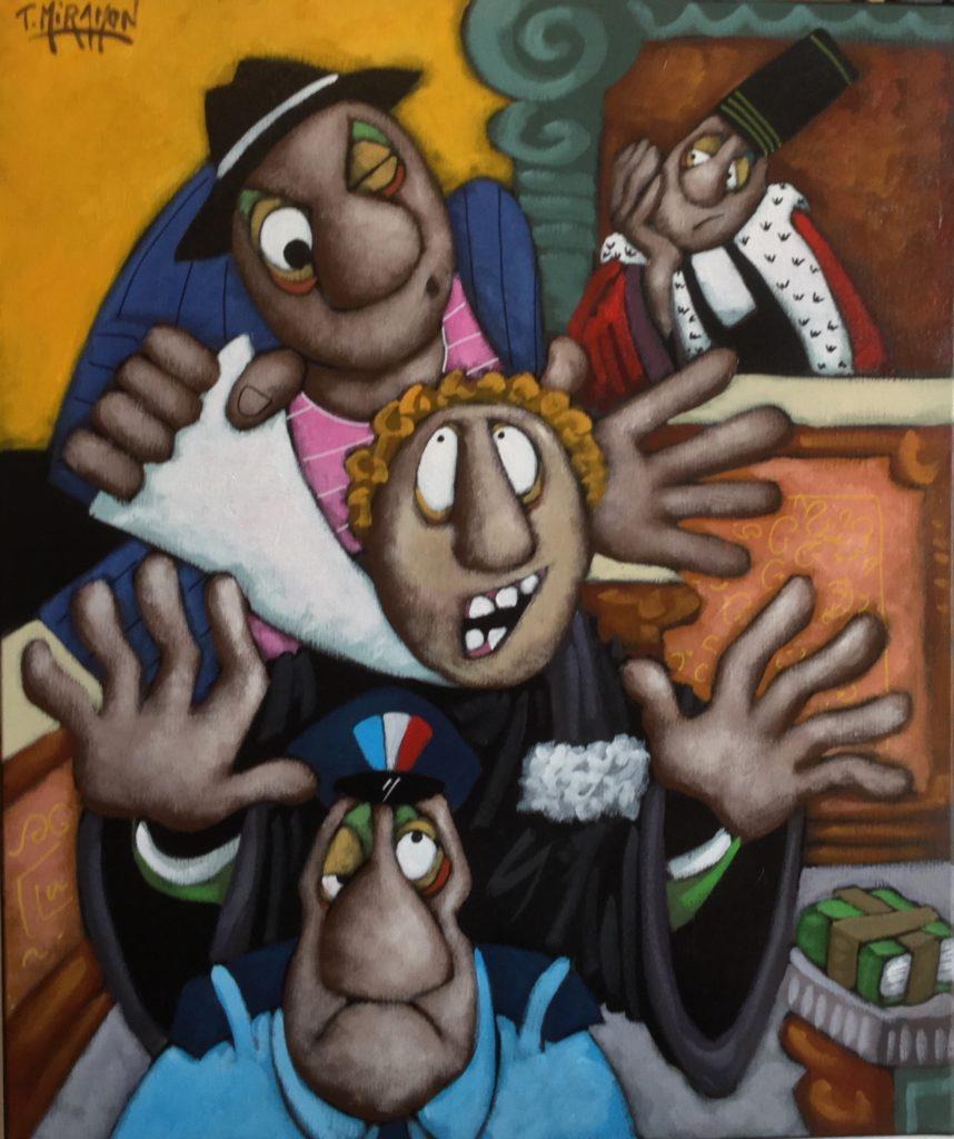 Thierry Miramon Artiste Peintre Oeuvres