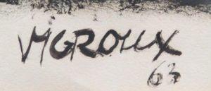 Paul Vigroux : Artiste Peintre - Oeuvres & Tableaux