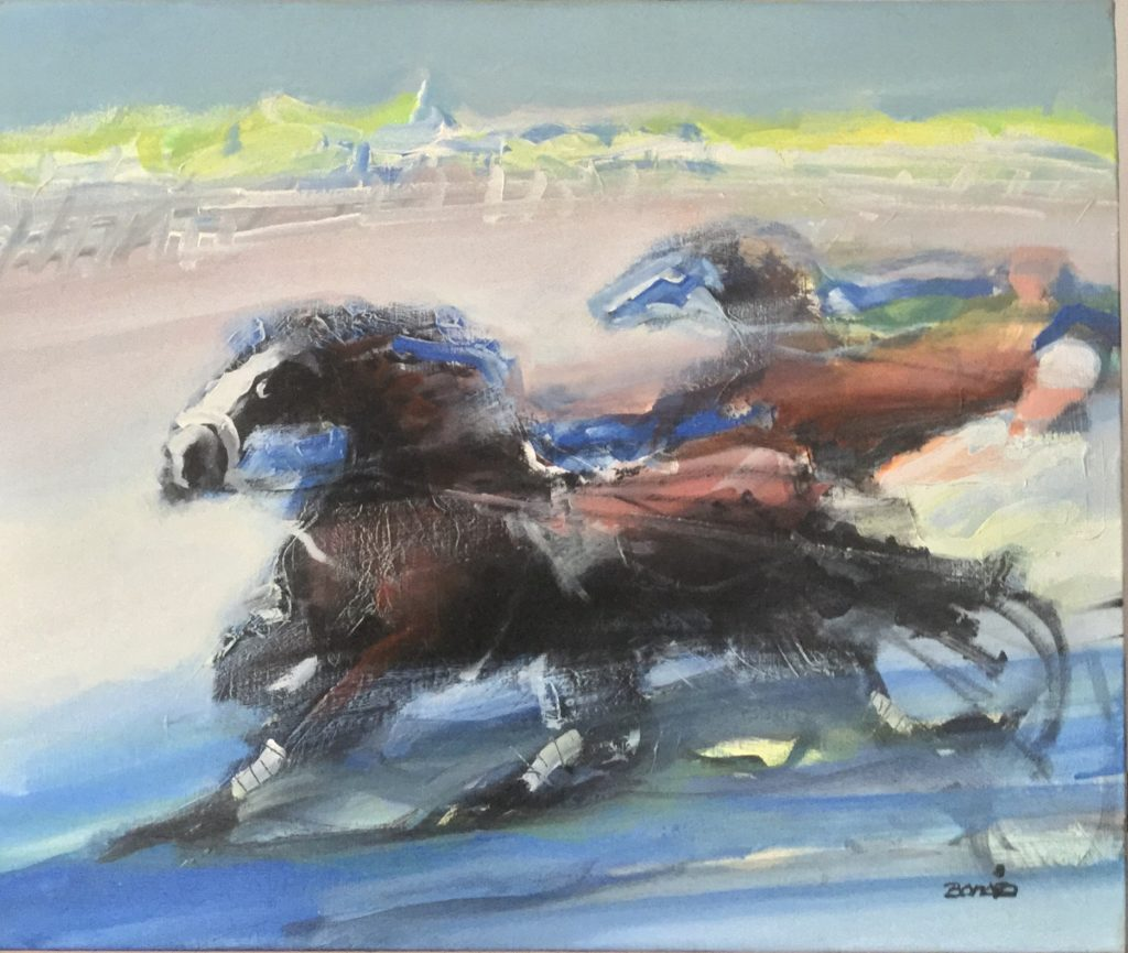 Jordi Bonas Artiste Oeuvre chevaux