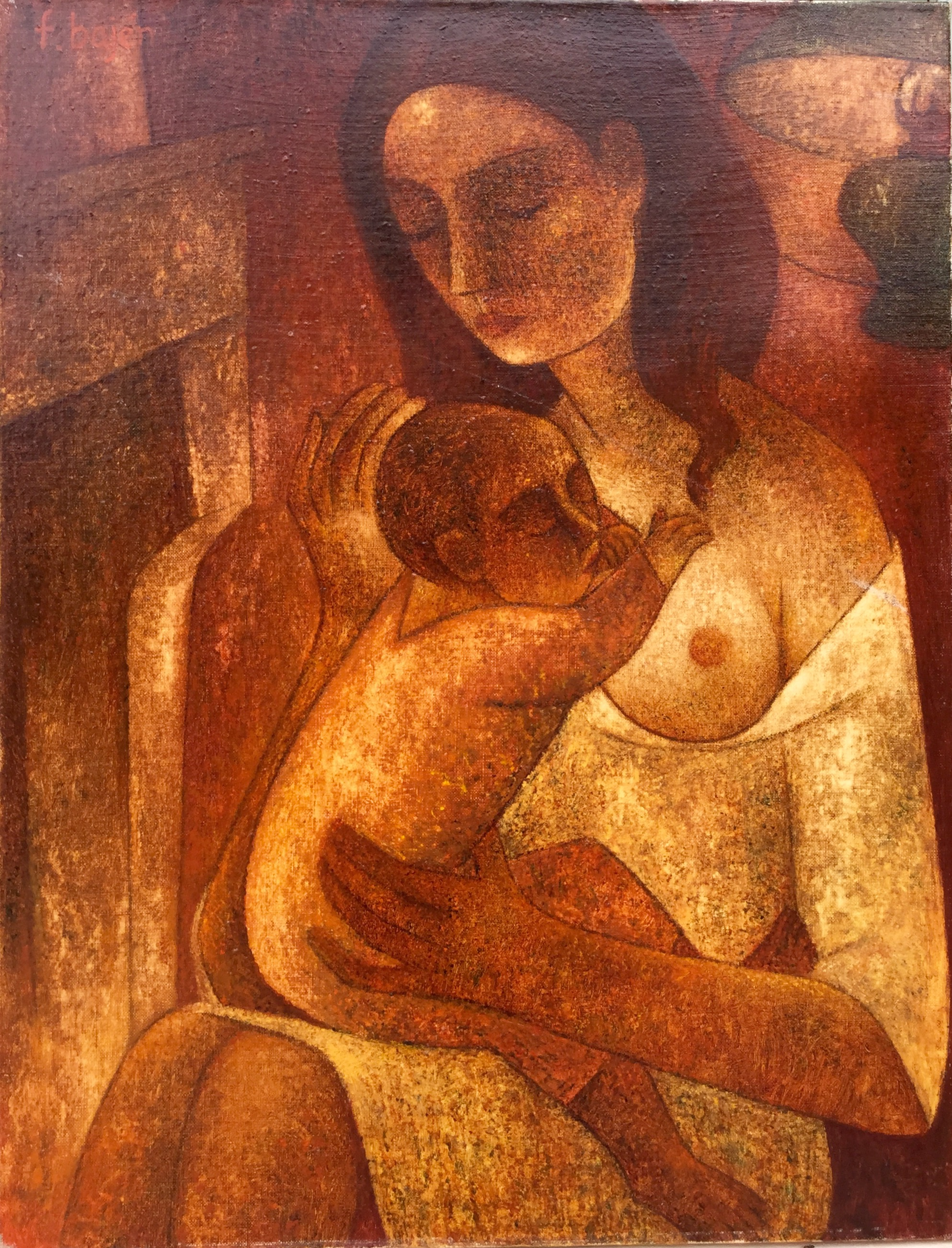 francisco bajen artiste peinture